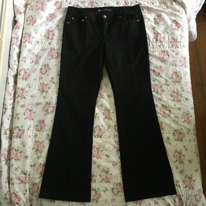 Michael Kors Black Bootcut Jeans Size 10 NWOT